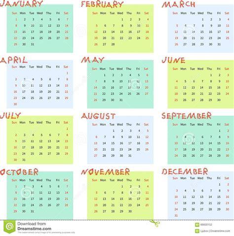 Calendario Por Semanas 2017 Calendario 2017 Por Semana 2017 Calendar Printable
