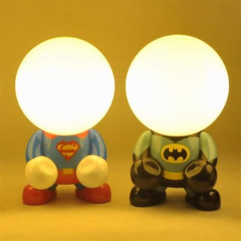 new luz de led superman vs batman book lights holiday