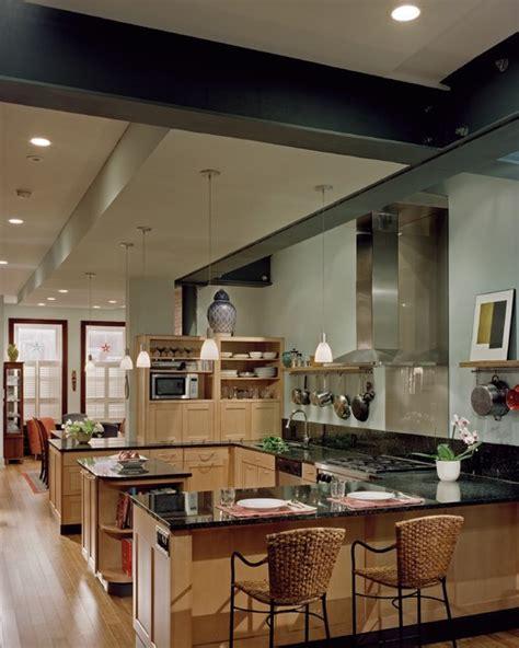 Back Painted Glass Kitchen Backsplash Spring Garden Row Home Kitchen Contemporary Kitchen