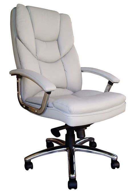 White Leather Desk Chairs Choose The Best White Leather Desk Chairs