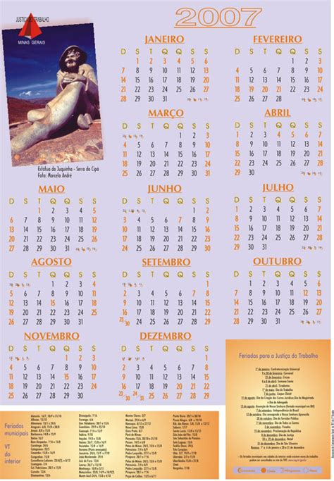 Trt 3 Calend Calendario 2007 Imagui