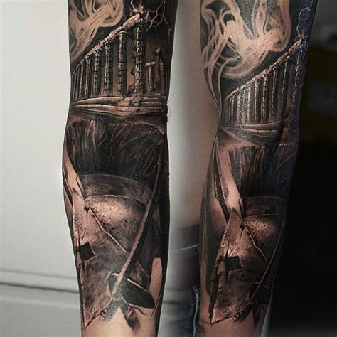 Black And Grey Tattoo Sleeve Best Tattoo Ideas Gallery Black And Grey Tattoos