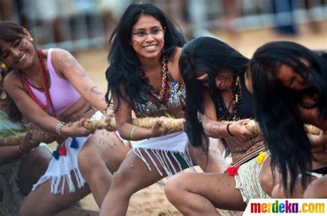 film dokumenter suku pedalaman foto 49 suku pedalaman di brasil ikuti kompetisi