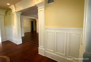 Dining Room Wainscoting Ideas Wainscot And Picture Frames Traditional By Trim Team Nj