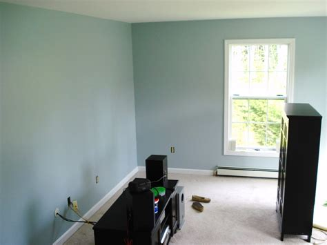 before painting a room maine home a new blue living room before and after