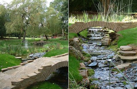 backyard streams 50 dreamy and delightful garden bridge ideas