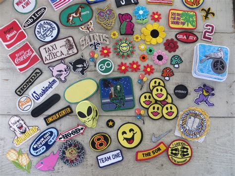 Patchwork Patches - iron on patches