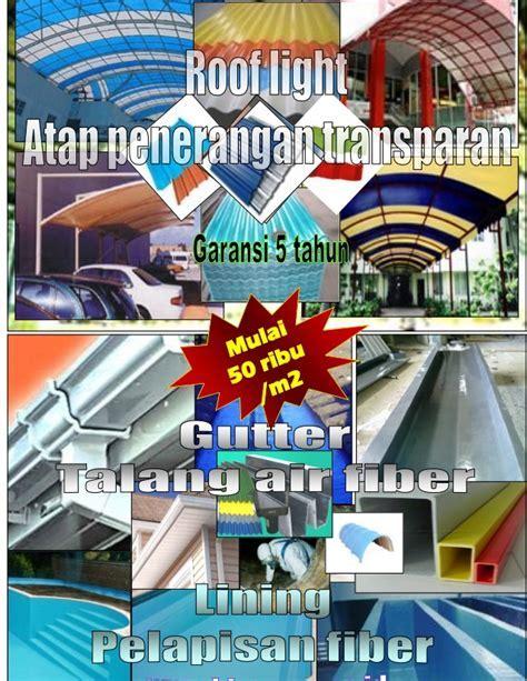 Atap penerangan fiber Rooflight, talang frp gutter
