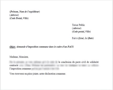 Exemple De Lettre Garde Alternée Mod 232 Le De Lettre Demander Une Imposition Commune Le Droit Pour Moi
