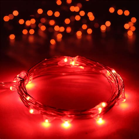 Battery Powered String Lights Outdoor 20 30 100 200 500 Led Solar Battery Powered String