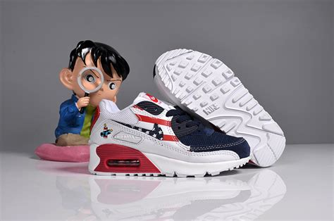 american sports shoes nike air max 90 american flag sports shoes 443817 601