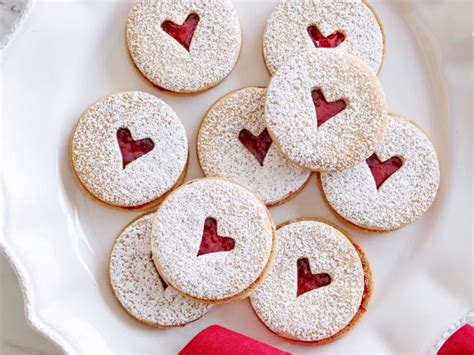 Mini Linzer Cookies Recipe   Ina Garten   Food Network