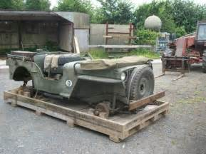 Surplus Jeeps In Crates Willys Jeep Crate For Sale 1944 On Car And Classic Uk