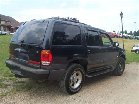 how cars run 2001 mercury mountaineer electronic throttle control sell used 2001 mercury mountaineer ford explorer in