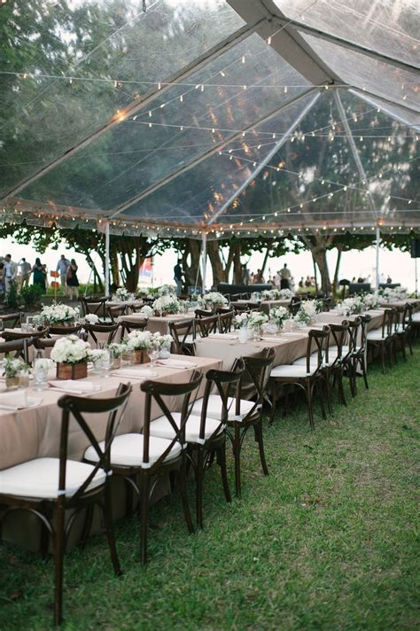 backyard wedding rentals 25 best ideas about wedding tent decorations on pinterest