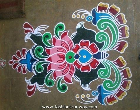 art design rangoli flowers indian rangoli designs fashions runway