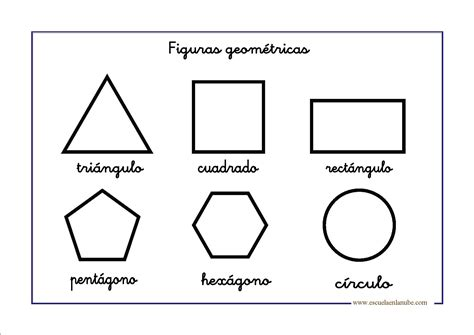 figuras geometricas basicas para colorear figuras geom 233 tricas para infantil y primaria