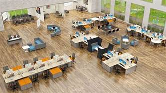 open floor plan office space fixing the open office floor plan clarkpowell audio visual expertise for north and south