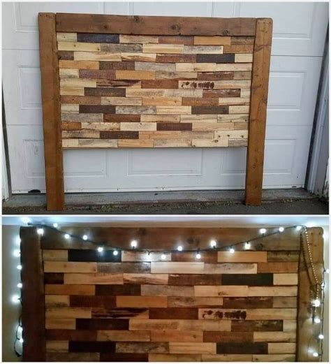 shipping pallet headboard best 25 wood pallet headboards ideas on pinterest