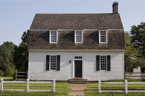 Colonial Farmhouse Ewing House Colonial Williamsburg Farmhouse Exterior