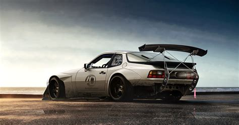 widebody porsche 944 porsche 944 wide by anqui on deviantart