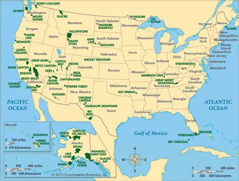 map of usa showing national parks physiographic map of usa with national parks einfon