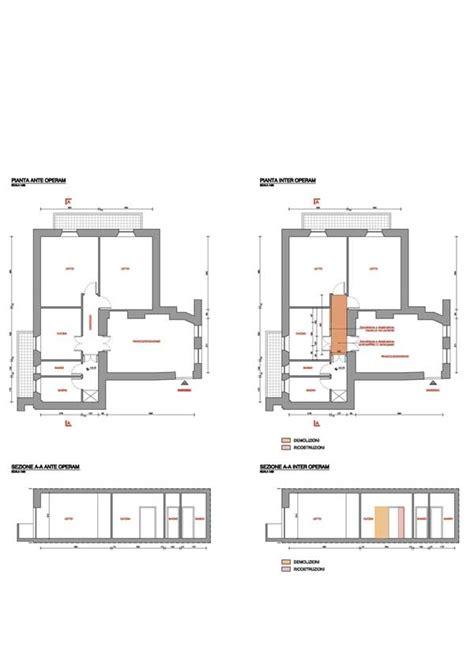relazione tecnica ristrutturazione interna appartamento correzione planimetria catastale predeion