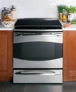 ge kitchen appliance ge profile slide in induction range phs925stss