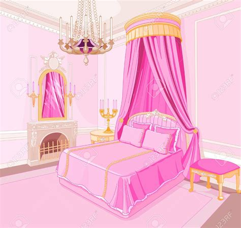 image gallery pink room interior clipart pink bedroom pencil and in color