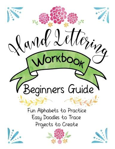 lettering workbook a premium beginner s practice lettering book introduction to lettering modern calligraphy books cheapest copy of lettering workbook beginners guide
