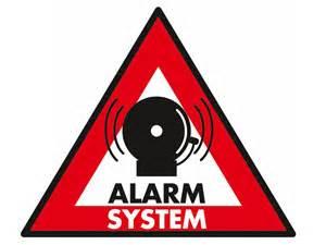 autocollant alarme grande taille protect home