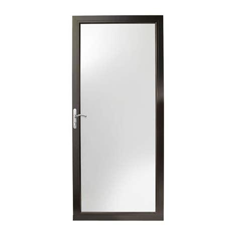 Andersen 3000 Door by Andersen 36 In X 80 In 3000 Series Black Left