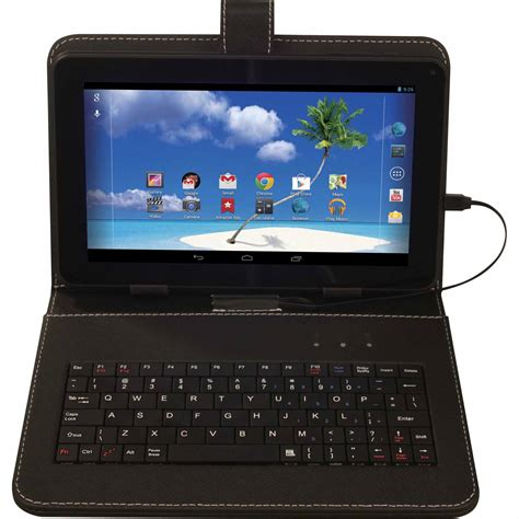 8 android tablet proscan 9 quot tablet with 8 gb and android 4 4 and keyboard tvs electronics