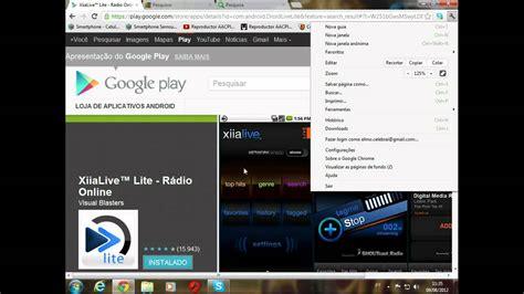 website radio tutorial tutorial como ouvir a web r 225 dio celebrai no seu celular
