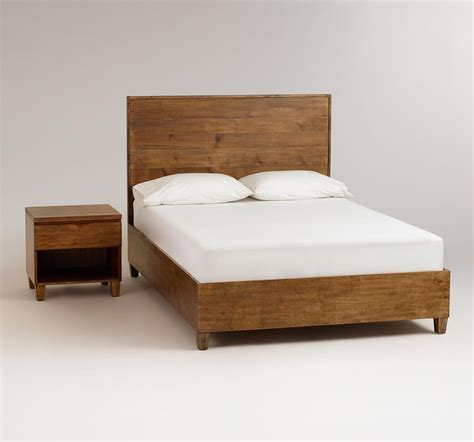 simple bed frame home priority homey feeling of rustic bed frames ideas