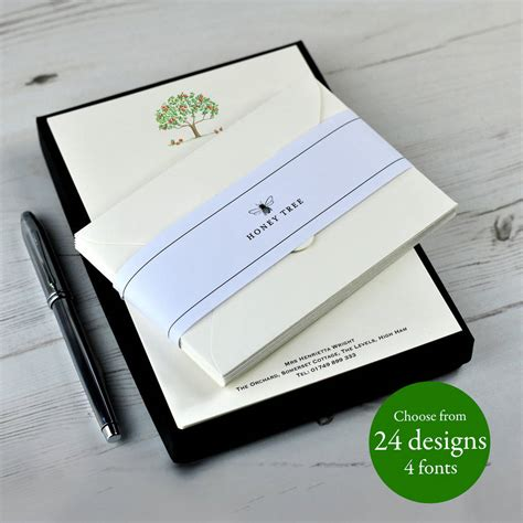premium writing paper premium illustrated writing paper set with gift box by