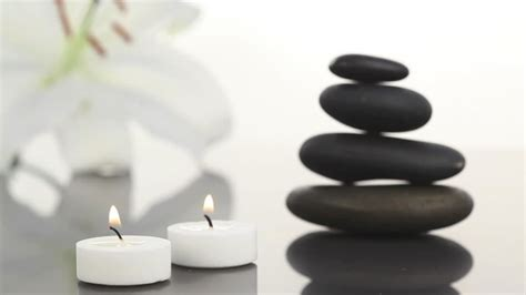 imagenes zen con velas vela zen aromaterapia hd stock video 813 615 988