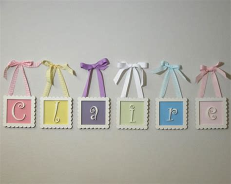 Letter Decorations For Nursery Baby Name Blocks M2m Cocalo Couture Alma Grey Nursery Name Blocks Nursery Decor Baby