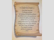 sailors creed loading