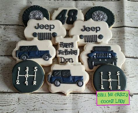 jeep cookies jeep cookies call me crazy cookie lady pinterest jeeps
