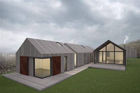 Modern Bungalow House Design by Eddisbury Barns Annabelle Tugby