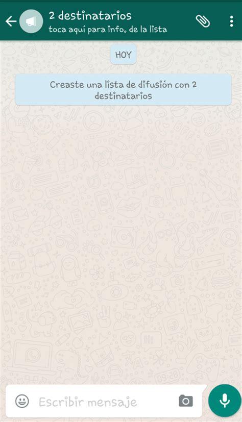 imagenes para perfil normal c 243 mo crear una lista de difusi 243 n en whatsapp