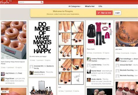 pinterest clone layout pinterest clones abound in china