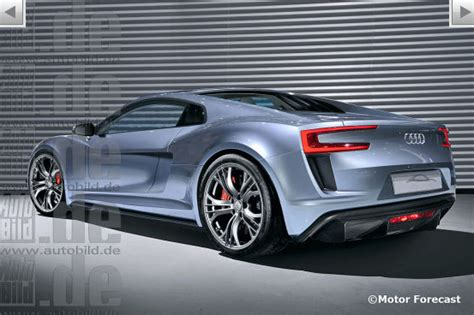 AudiBoost Next generation 2015 Audi R8 rendered
