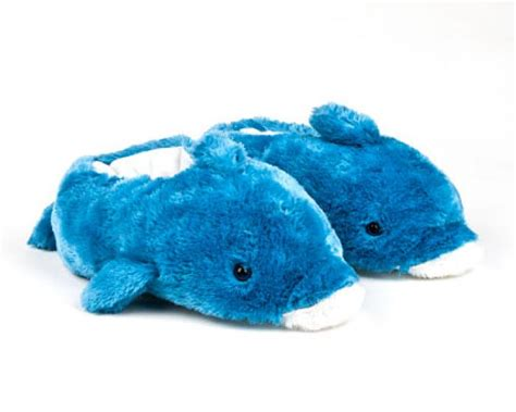 animal slippers blue dolphin slippers blue dolphin animal slippers