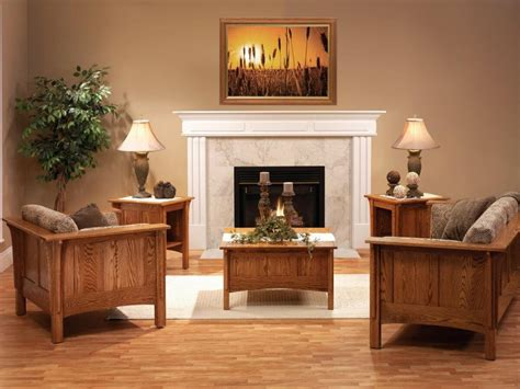 colonial cottage living room set countryside amish furniture