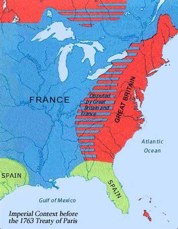 america map of 1763 treaty of 1763