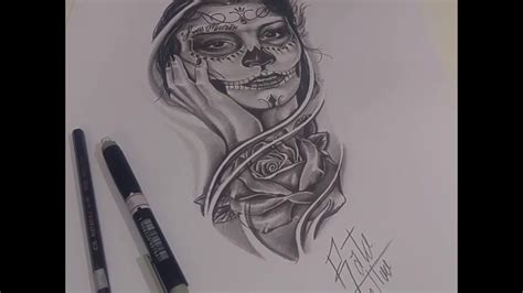 tattoo removal santa rosa desenho realista para catrina santa muerte rosa