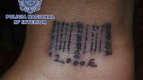 barcode tattoo story pimps tattooed bar code on wrist of woman forced into