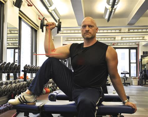 external rotation on bench seated db external rotation physiqology